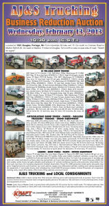 Auction Flyer