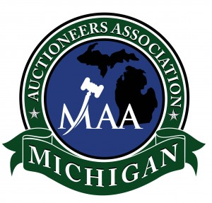 This is the Michigan Auctioneer Association Logo