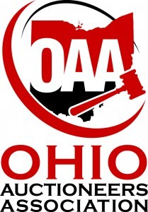 Logo for the Ohio Auctioneers Association