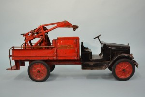 Antique Buddy L Steel Wrecking Truck