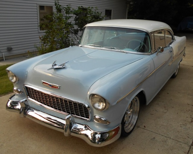 1955 Chevrolet 2 Door Coupe - Restored