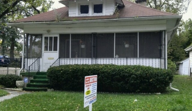 ABSOLUTE Real Estate Auction – Indianpolis, IN
