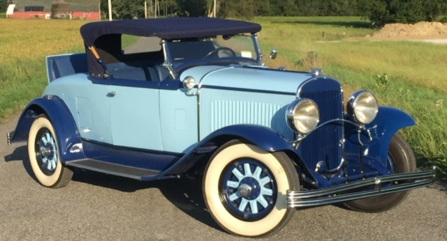 1929 Chrysler 75 Roadster with Rumble Seat