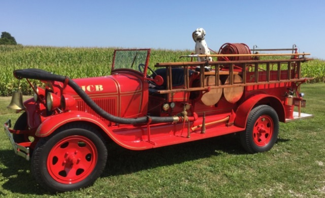 1929 Ford Model AA Fire Truck